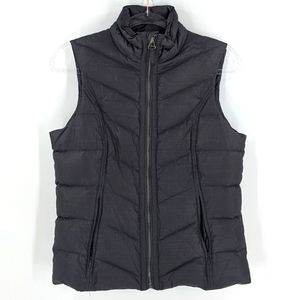 Prana Breathe Goose Down Fill Puffer Zip Up Vest